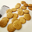 Peanut Butter Cookies — Stock Photo