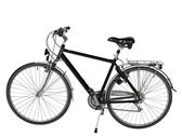 Road bike isolated with clipping path — Стоковое фото