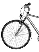 Part of bike isolated ( clipping path) — Stock Photo