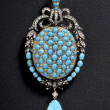 Beautiful jewelry on background — ストック写真 #24196947
