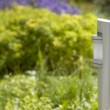 Modern Garden lamp - Stock Photo