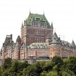 QUEBEC CITY, CANADA - AUGUST 21: Chateau Frontenac Hotel on Augu — Stock Photo #42779653
