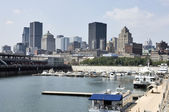 MONTREAL, QUEBEC, AUGUST 10 2010: View of downtown Montreal show — Stock Photo