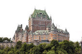 QUEBEC CITY, CANADA - AUGUST 21: Chateau Frontenac Hotel on Augu — Stock Photo