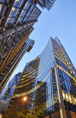 Modern architecture City of London the leading centre of global — Stock Photo