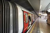 Dentro da visão do metro de londres — Foto Stock