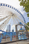 Ferris wheel in Brussels — Stock Photo