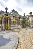 Royal Palace in historical center of Brussels, Belgium — Stock Photo