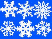 Snowflake ilustration — Stock Vector