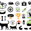Royalty-Free Stock Vector Image: Pet icons