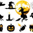 Halloween set — Stock Vector #13190118