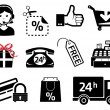 Royalty-Free Stock Vector Image: Market signs and icons