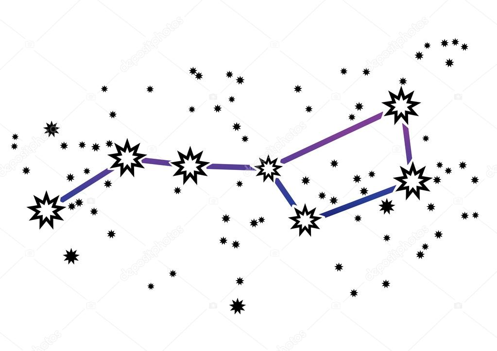 Talitha in addition Stock Illustration Constellation Ursa Major Big Dipper as well Draco  constellation likewise Dipper constellations besides Constellations. on ursa major constellation