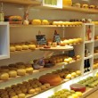 Cheese shop — Stock Photo