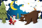 Santa myśliwego — Wektor stockowy