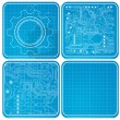 Blueprints — Stock Vector