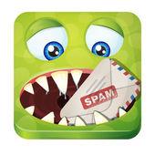Spam eater — Stock Vector