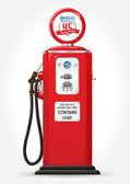 Gasoline pump retro — Stock Vector