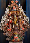 Mexican sculpture for Day of Dead — Stock Photo