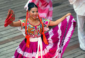 Mexican dancer — Stock Photo