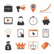Stock Vector: SEO icons sets
