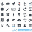 Universal icons set 04 — Stock Vector #27794659