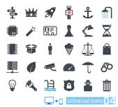 Universal icons set 04 — Stock Vector