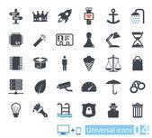 Universal icons set 04 — Stock Vector