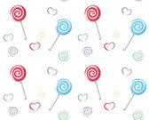 Lollipop pattern — Stock Vector