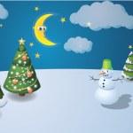 Winter scenary — Stock Vector #3891079