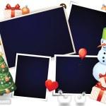 Xmas photo frames — Stock Vector #7588000