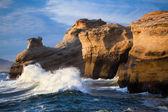 Ocean waves landscape - Oregon coast — Stock Photo