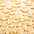 Water drops background closeup — Stockfoto