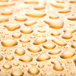 Water drops background closeup - Stockfoto