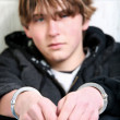 Youth crime - Stock Photo