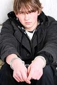 Nastolatek przestępczości — Zdjęcie stockowe