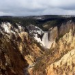 Lower falls of yellowstone — Stock Photo