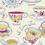 Tea cups — Stock Vector #14816995