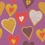 serca. wzór — Wektor stockowy