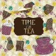 Time for Tea — Stock Vector