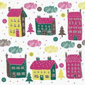 Glad jul by — Stockvektor