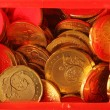 Safe with Coins - Stock fotografie