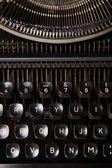 Typewriter button — Stock Photo