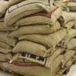 Burlap bag — Stock Photo