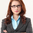 Portrait of sucessful business woman — Stock Photo