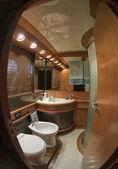 Atlantica-luxus-yacht — Stockfoto