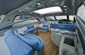 Aqua luxury yacht — Stock Photo