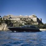 Italy, Baia (Naples), Baia 100 luxury yacht (boatyard: Cantieri di Baia) — Stock Photo #13203101
