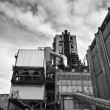 Italy, Maddaloni (Naples), cement factory - 图库照片