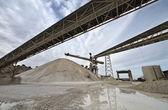 Włochy, maddaloni (neapol), fabryka cementu — Zdjęcie stockowe